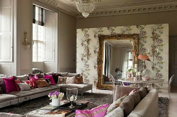 Smarts Ways Mirrors Can Help You to Decorate Your Home (18)