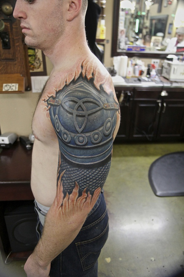 Glorious Armor Arm Tattoo Sleeves (6)