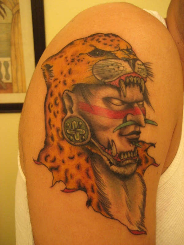Ancient Mayan Tattoo Designs (1)