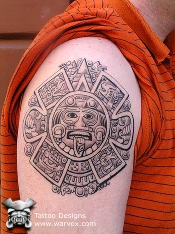 Ancient Mayan Tattoo Designs (19)