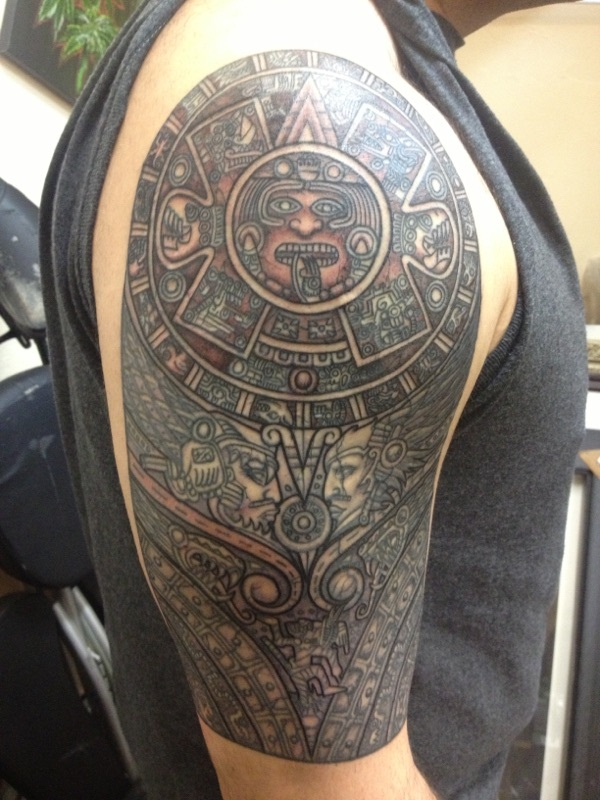 Ancient Mayan Tattoo Designs (20)
