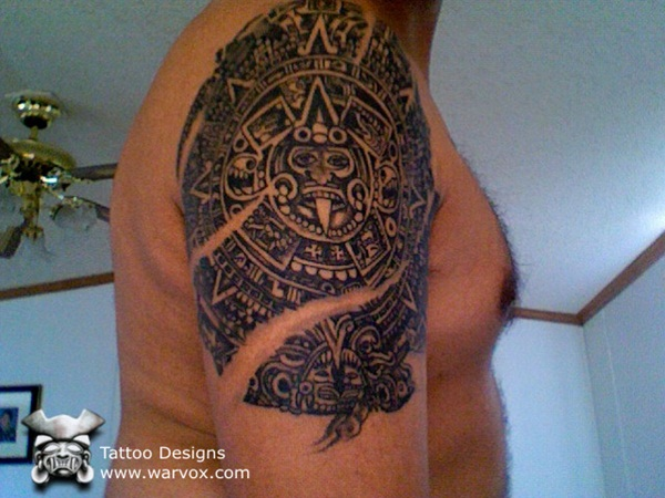 Ancient Mayan Tattoo Designs (26)