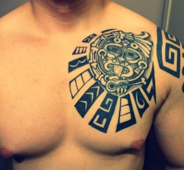 Ancient Mayan Tattoo Designs (27)