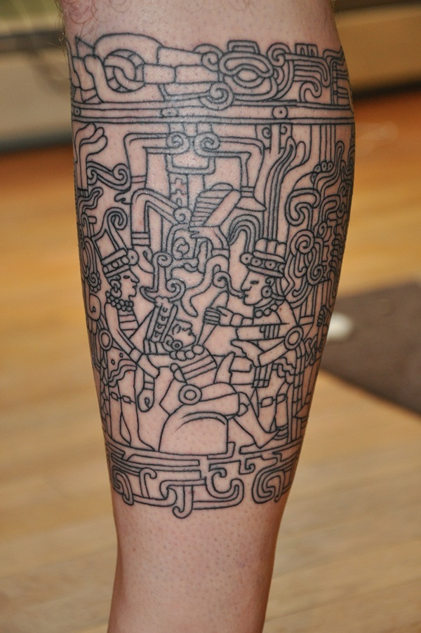 Ancient Mayan Tattoo Designs (30)