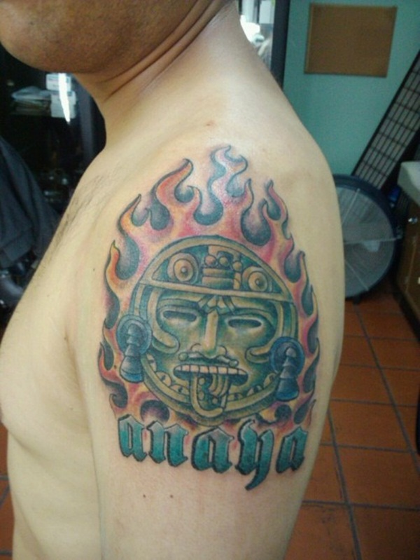 Ancient Mayan Tattoo Designs (31)