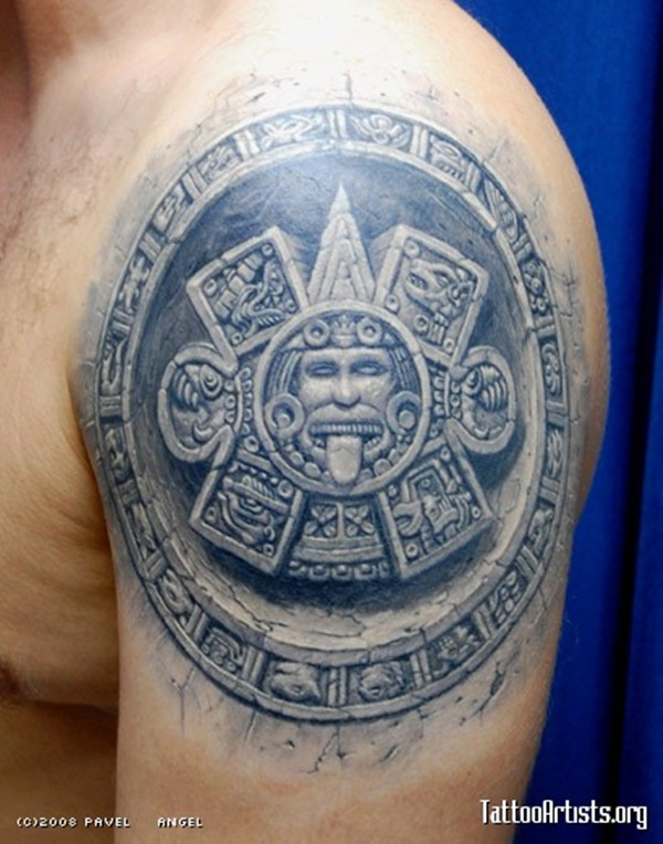 Ancient Mayan Tattoo Designs (36)