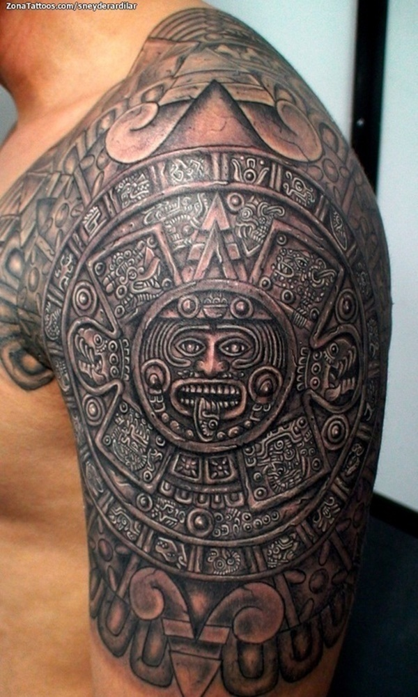 Ancient Mayan Tattoo Designs (37)