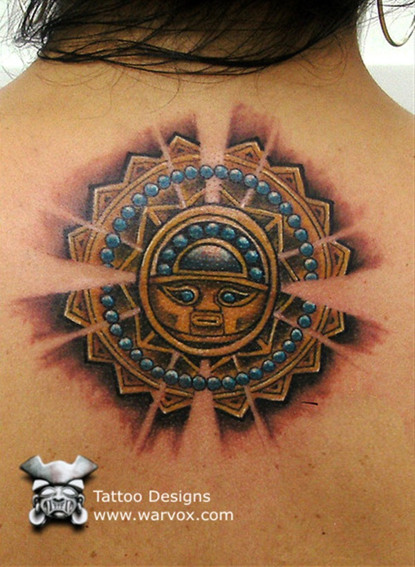 Ancient Mayan Tattoo Designs (5)