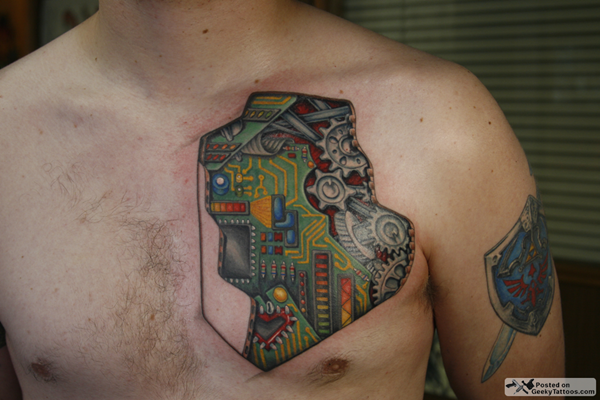 Circuit Tattoo Designs (1)