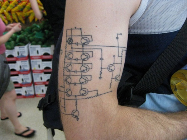 Circuit Tattoo Designs (25)