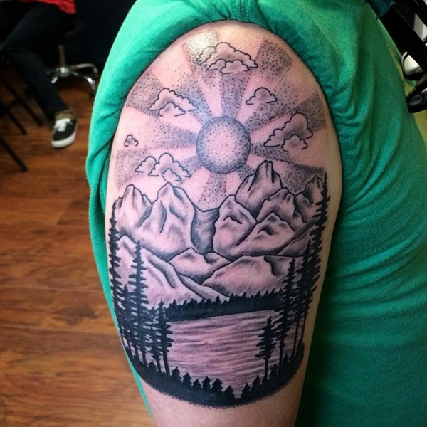 Nature tattoo (3)