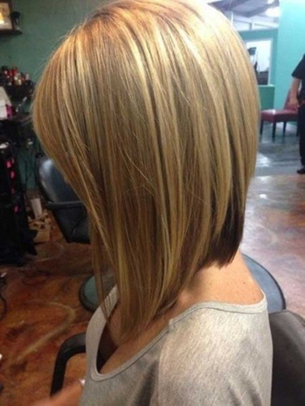 15 Blonde Bob Hairstyles Short Hairstyles 2015 2016 Most Back View Of Long Bob Haircuts - Proper Hairstyles