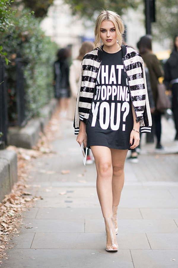 LONDON, ENGLAND - SEPTEMBER 19:  Talia Storm during London Fashion Week Spring/Summer collections 2017 on September 19, 2016 in London, United Kingdom.  (Photo by Timur Emek/Getty Images)