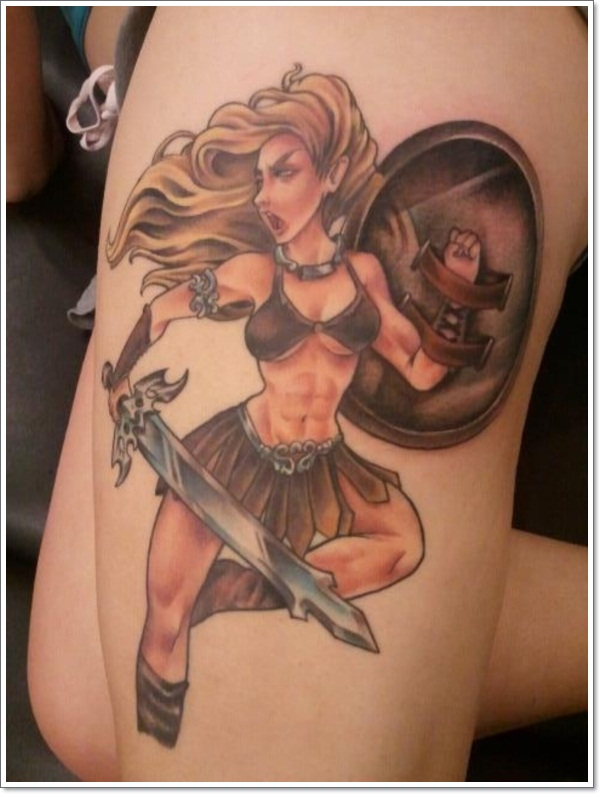 25 Super Sexy Pin Up Girl Tattoo Designs