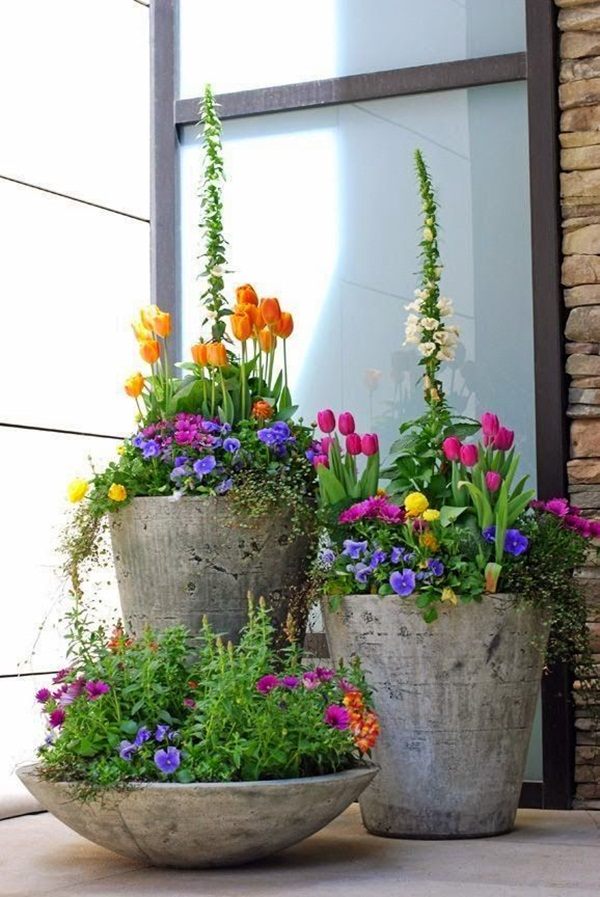 40 Creative Garden Container Ideas and Plant Pots on Tree Planting Ideas For Backyard id=54564
